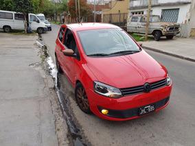 Volkswagen Fox Confortline 1.6 3ptas Rojo