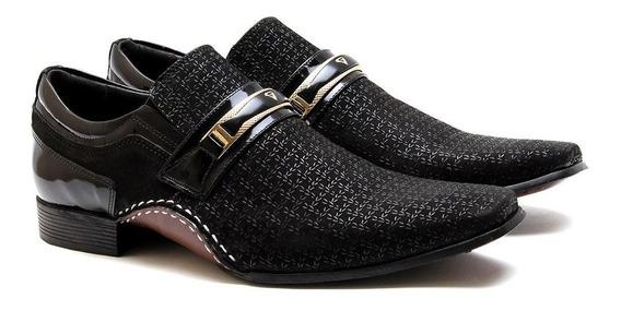 Sapato Social Masculino Calvest 1930b592 Preto