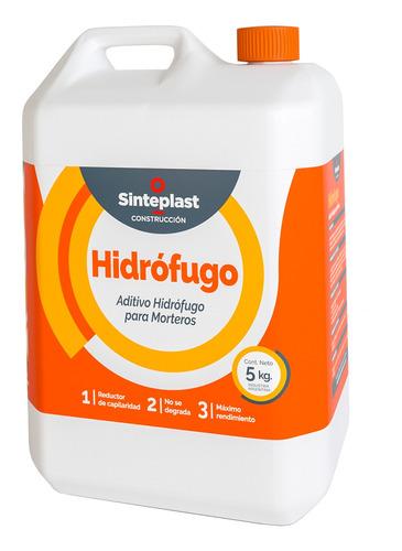 Imagen 1 de 10 de Hidrofugo Aditivo 5 Kg Sinteplast De Mortero Paredes Pisos