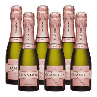 Champagne Chandon 187 Rose X 6 Botellas Envio Gratis Caba