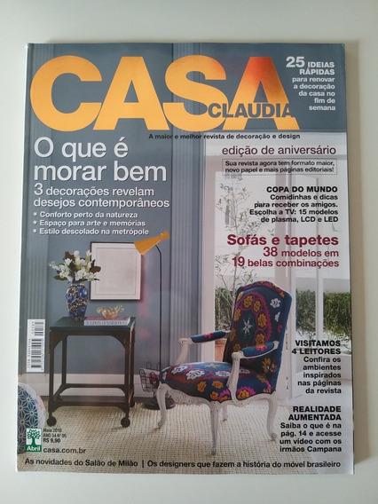 Revista Casa Claudia 585 De Maio De 2010