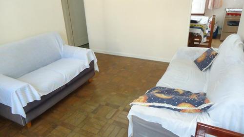 Apartamento Com 2 Dormitórios À Venda, 65 M² Por R$ 250.000,00 - Campo Grande - Santos/sp - Ap4612