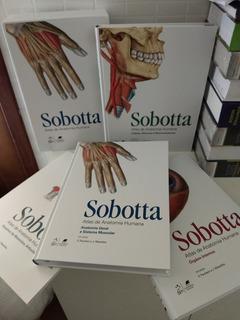 Sobotta Atlas De Anatomia Humana 3 Volumes. Novo No Plástico