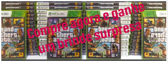 Gta 5 Xbox 360 Midia Fisica Lacrado Original