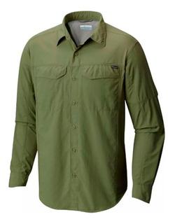 Camisa De Secado Rápido Columbia Silver Ridge Manga Larga