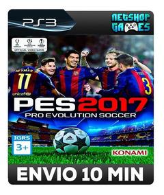 Pro Evolution Soccer 2017 - Pes 17 - Psn Ps3 - Português