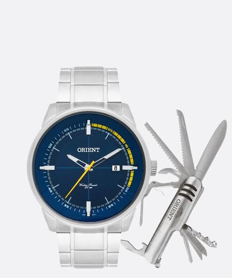 Kit Relógio Masculino Orient Mbss1309 D2sx