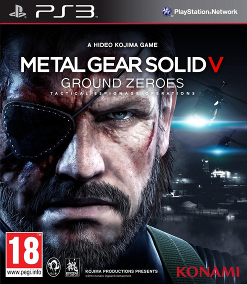 Metal Gear Solid V Ground Zeroes Ps3 Psn Envio Imediato
