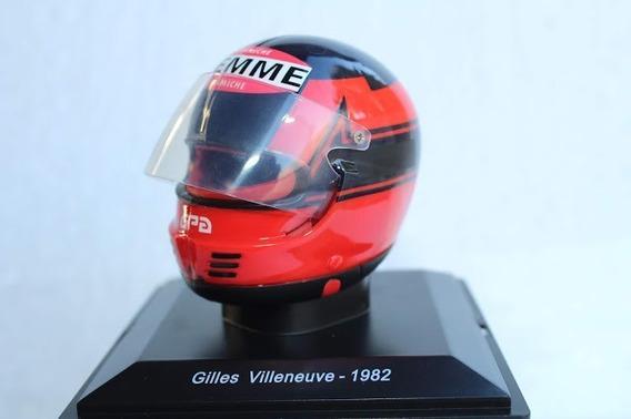 Cascos Grandes Premios Gilles Villeneuve 1982 Spark 1/5