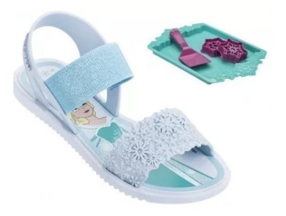 Sandália Infantil Frozen Grendene Kids + Brinde
