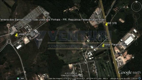 Terreno - Campo Largo Da Roseira - Ref: 168 - L-168