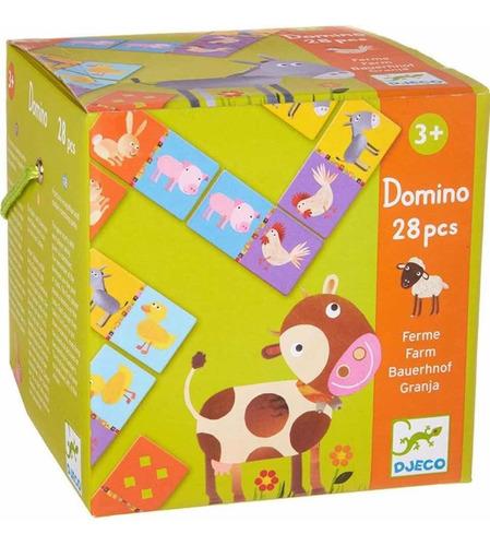 Domino Djeco Juego Animales Granja Cadaques Kids