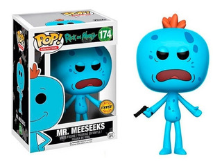 Funko Pop! Mr Meeseeks Rick And Morty Chase Edition