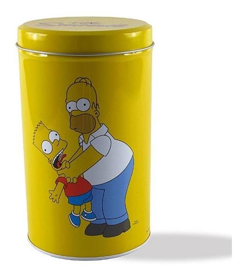 Lata Simpsons Family 18x11x11cm - Trevisan Concept