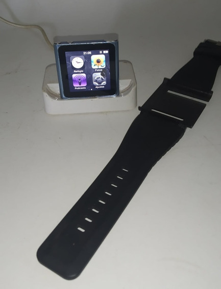iPod Nano 6 16gb Azul Rádio Fm - Usado Apple