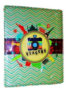 Álbum Fotográfico 10x15 200 Fotos Viagens(0115) - Universal