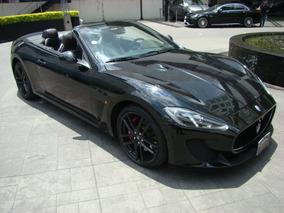 Maserati Gran Turismo Convertible 2013 Negro