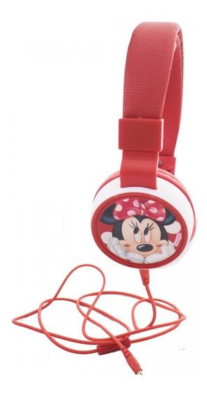 Fone De Ouvido Supra Auricular Minnie - Disney