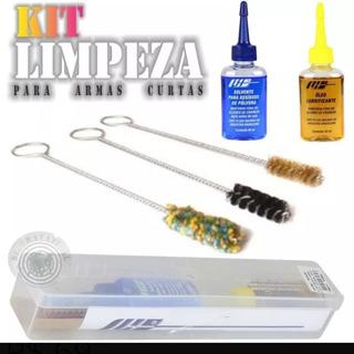 Kit Limpeza Armas Curtas - Frete Grátis
