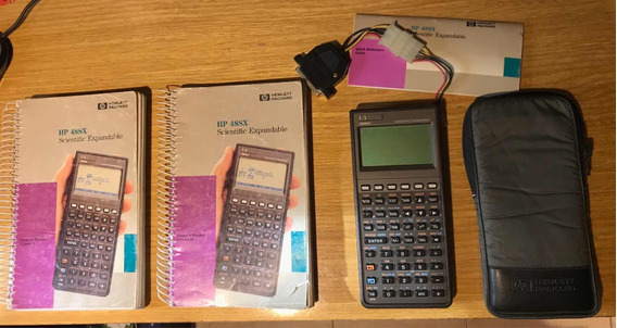 Calculadora Cientifica Hp 48sx - Completa