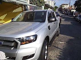 Ford Ranger 2.5 Xls Cab. Dupla 4x2 Flex 4punico Dono,prata.