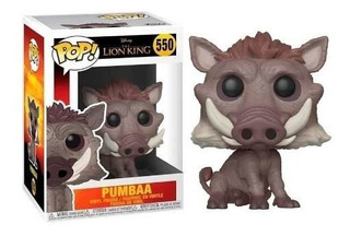 Funko Pop The Lion King 550 Pumbaa Original Nuevo Magic4ever