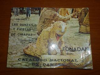 Catalogo Nacional De Danzas. Mercedes Olivera. Fonadan.1974.
