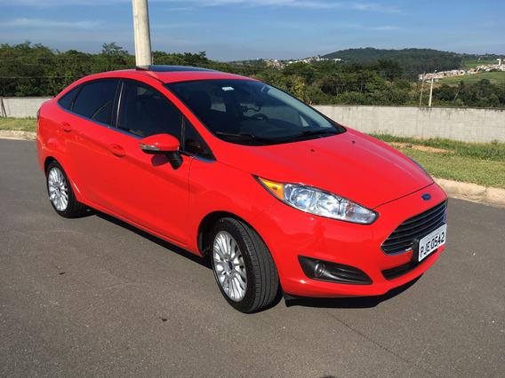 Ford Fiesta Sedan 1.6 16v Titanium Plus Flex Powershift 4p