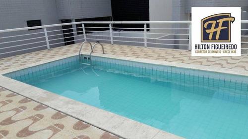 Imagem 1 de 20 de Apartamento À Venda, 54 M² Por R$ 200.000,01 - Bessa - João Pessoa/pb - Ap6024