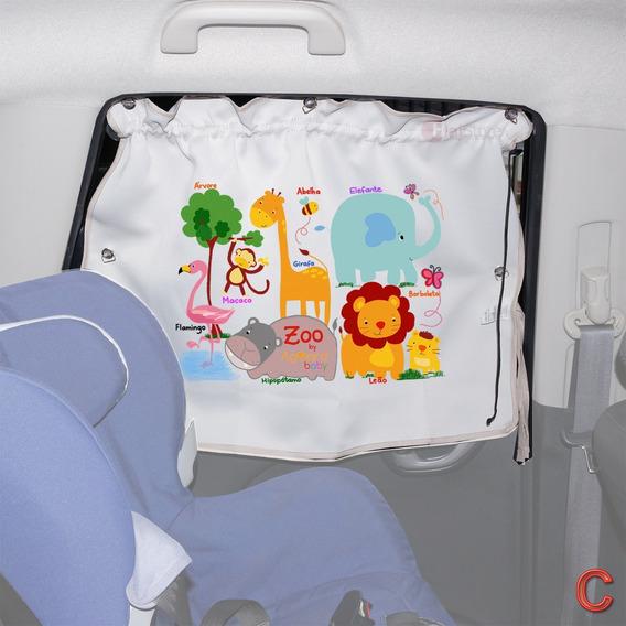 Cortina Protetor Solar Blackout Janela Bebê Infantil Carro +
