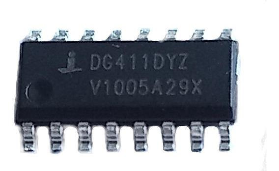 Ci Chave Cmos Dg411 Soic 16 - Kit 3pçs