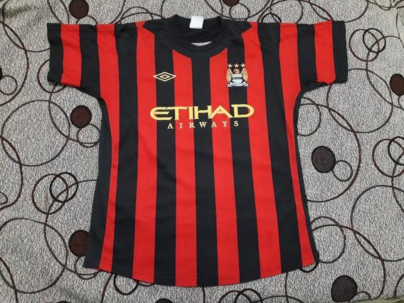 Camiseta Manchester City Umbro M 2012 Colon