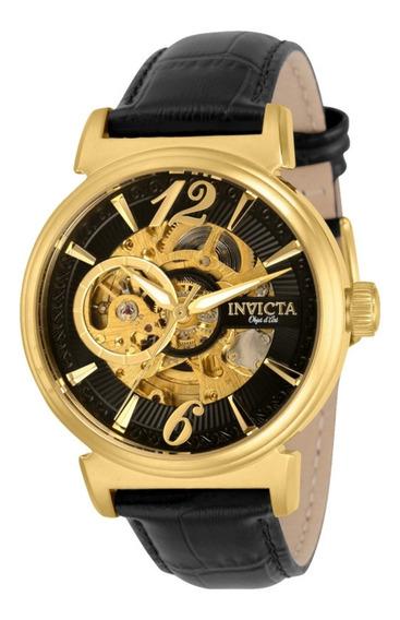 Relógio Invicta Original Objet Automático - 30463