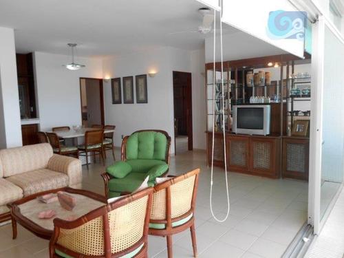 Imagem 1 de 30 de Apartamento À Venda, Penhasco Das Gaivotas - Guarujá. - Ap3937