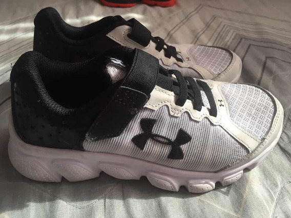 Zapatillas Under Armour Assert 6 Usa Nro30 Líquido Como Nuev