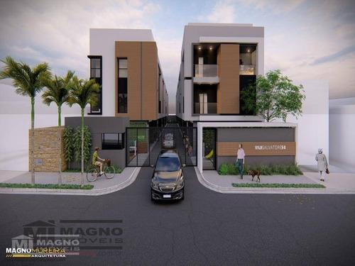 Casa Com 3 Dormitórios À Venda Na Mooca - Ca0719