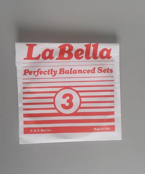 Cuerdas Guitarra Electrica O Acústica N.3 La Bella
