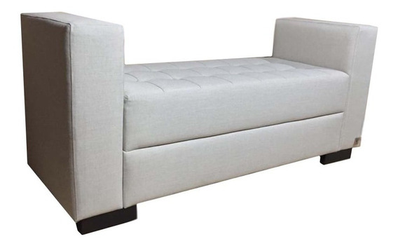 Recamier Casal Alce Couch Linho Crú 140cm