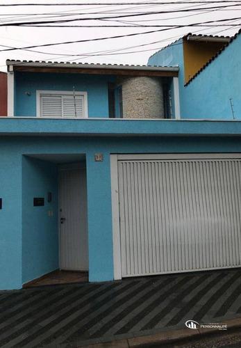 Imagem 1 de 11 de Sobrado Com 3 Dormitórios À Venda, 200 M² Por R$ 930.000,00 - Paulicéia - São Bernardo Do Campo/sp - So0286