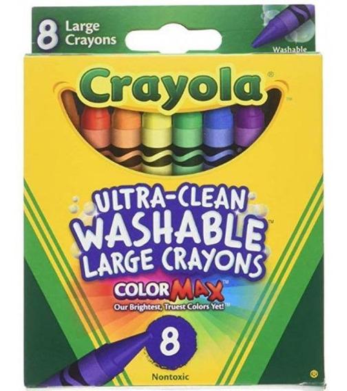 Giz De Cera 8un Colormax 52-3280 Crayola