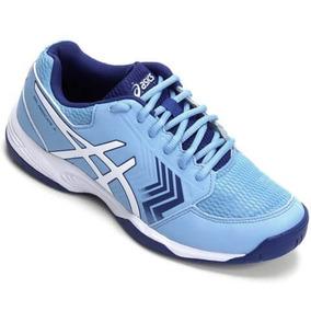 Tênis Asics Gel Dedicate 5 A ( Azul E Branco ) Feminino