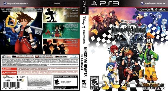 Jogo Kingdom Hearts Hd 1.5 Remix - Ps3 - Mídia Física Usado