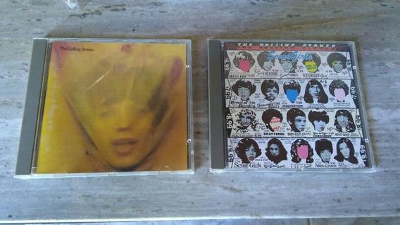 Lote Cds Rolling Stones- Importados Uk. Primeras Edicione