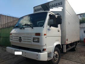 Vw 8140 95/96 Baú 5,50 Mts - R$ 45.000