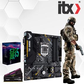 Kit Intel Core I5 8400 + Asus Tuf B360m-plus Gaming + 16gb