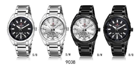 Relógio Masculino Naviforce Mod: 9038