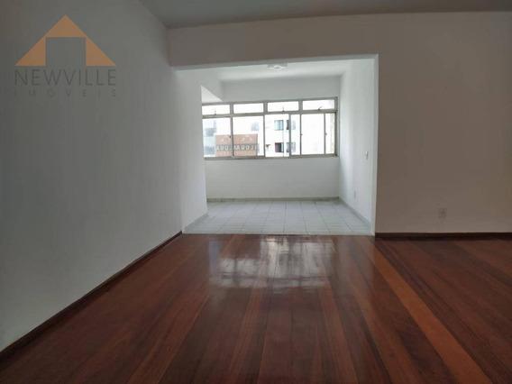 Apartamento Com 3 Quartos Para Alugar, 170 M² Por R$ 3.000,00/mês - Boa Viagem - Recife/pe - Ap2245