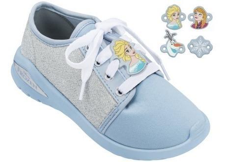 Tênis Infantil Frozen Elsa Fairytale Grendene Kids 21810
