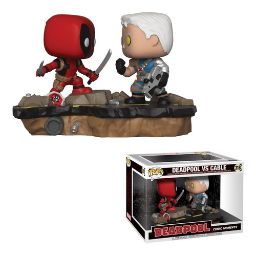 Deadpool Vs Cable Funko Pop Comic Moments