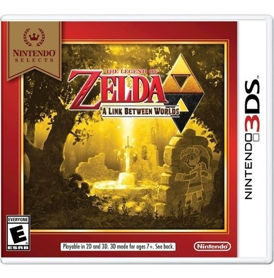 The Legend Of Zelda - A Link Between Worlds - 3ds Lacrado